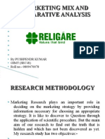 A Marketing Mix and Comparative Analysis