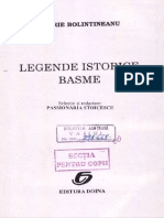 Basme Legende Istorice Dimitrie Bolintineanu