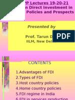 FDI Policies in India by Tarun Das