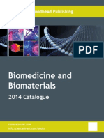 Biomedicine and Biomaterials Catalogue