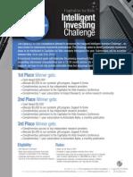 Capitalize for Kids Investors Challenge