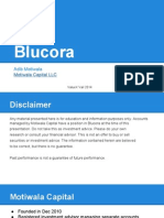 Investment Case For Blucora - Motiwala Capital
