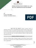Resposta Escrita à Acusação - Iran Silva de França