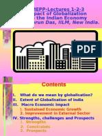 Impact of Globalization on India- Tarun Das