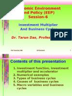 Investment Functions Prof. Tarun Das