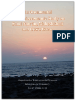 Environmental and Socioeconomic Study on Saint Martin, Moheshkhali and Cox's Bazar By Abu Khairul Bashar