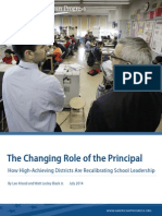 The Changing Role of the Principal