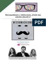 Micromachismos y Adolescencia