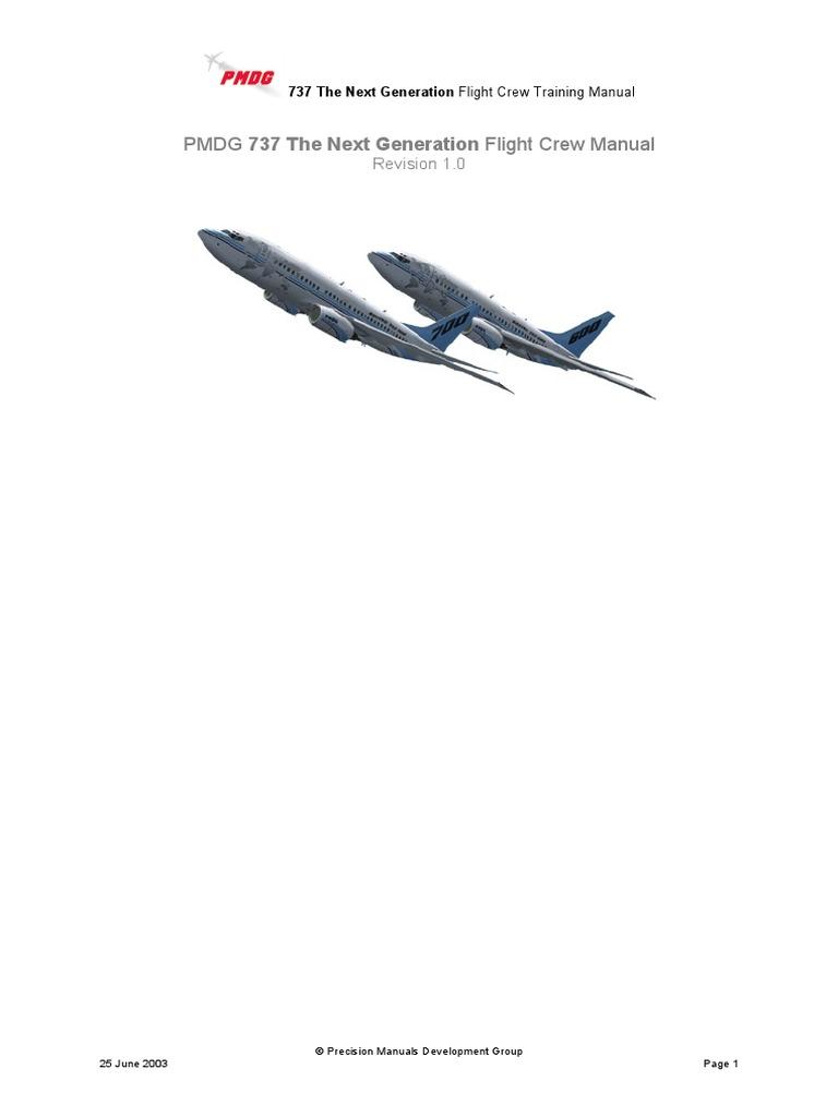 Flight Crew Training Manual (Pmdg 737 the Next Generation)   Takeoff    Spaceflight Technologies