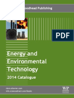 Energy and Environmental Technology Catalog