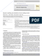 Dynamic modeling and simulation of cone crushing circuits.pdf