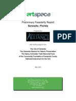 Artspace Preliminary Feasibility Report