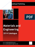 Materials and Engineering Catalog