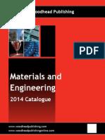 Materials and Engineering Catalog
