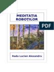 Meditatia Robotilor - Radu Lucian Alexandru