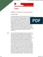 Rodolfo Mata - Borges y La Aventura de La Cuarta Dimensión
