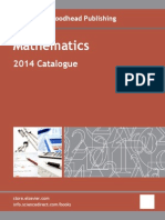 Mathematics Catalog