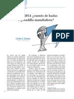 Brasil 2014 ¿cuento de hadas o pesadilla mundialista? (Bien Común 231)