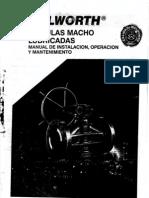 Manual de Instalacion, Operacion y Mantto de Valvulas Macho Lubricadas Walworth