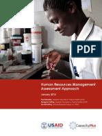 Human Resources Management Assessment Approach