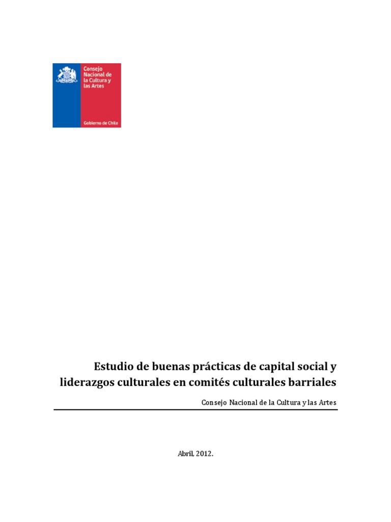 Estudio Buenas Practicas Capital Social Liderazgo