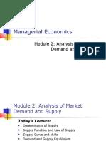 Managerial Economics- Supply