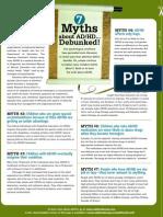 adhd add 7 myth