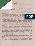 Reseña H Del Pueblo Chileno III - Rosati