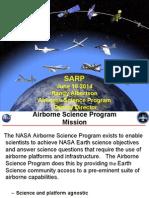 NASA Airborne Science Program - SARP 2014