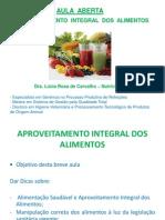 Lucia Rosa Aula Aproveita Alimentos