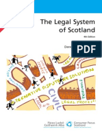 Legal System of Scotland