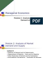 Managerial Economics, Measures of Elasticity by Tarun Das