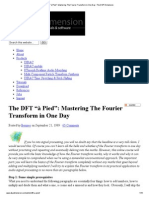 "The DFT ""à Pied""_ Mastering the Fourier Transform in One Day _ the DSP Dimension"