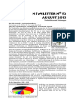 Newsletter No 52