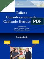 Taller Consideraciones de Cableado Estructurado