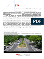Road Diets A Livability Fact Sheet