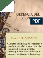 Presentacion Gerencia Del Servicio