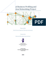 Regional Business Profiling and Innovation Networking Project Final Report