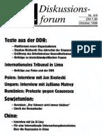 1989-10 Ost-West-Diskussionsforum Nr 8-9