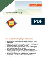 Eficiencia y Equidad - Capt 5 - Economia