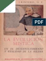 La Evolucion Mistica Arintero
