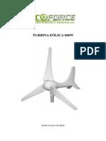 Turbina Eolica 600W