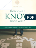 God's Desires in Life's Decisions