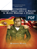 MArte- Correspondencia Consular Inglesa Sobre La Anexion de Santo Domingo