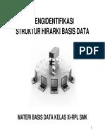 Struktur Hierarki Basis Data