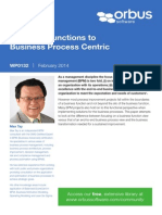 APQC Business Functions to Business Process Centric