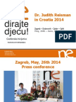 Dr. Judith Reisman in Croatia 2014