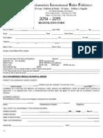 AIBF Registration Form 14-15