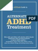adhd Add Treatment