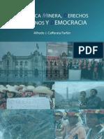 Libro de Alfredo Cafferata Mineria; DDHH y Democracia